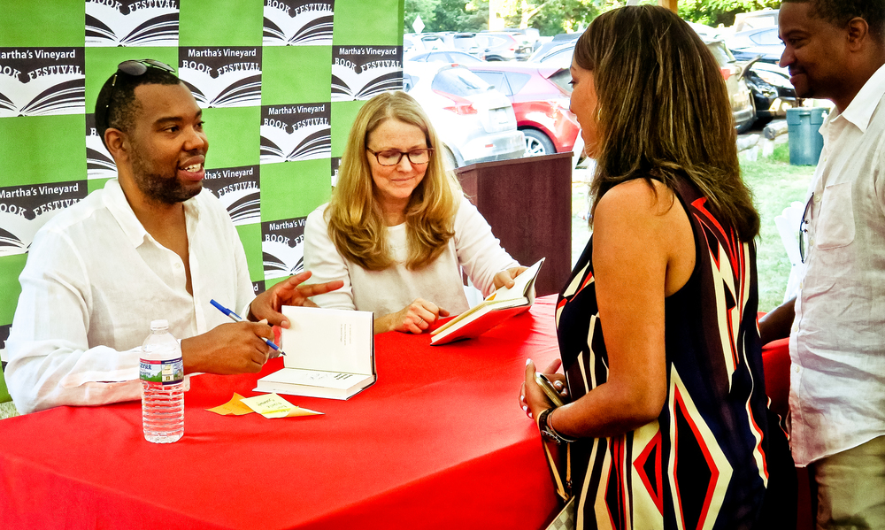Ta-Nehisi Coates and Dawn Braasch