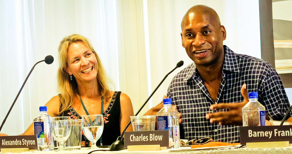 Alexandra Styron and Charles Blow