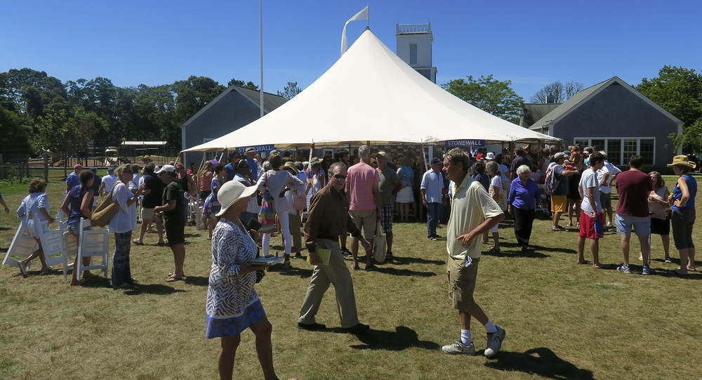 2015 Martha's Vineyard Book Festival, Chilmark, MA