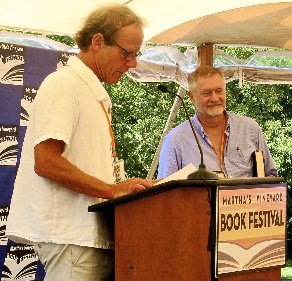 Tony Horwitz and Erik Larson