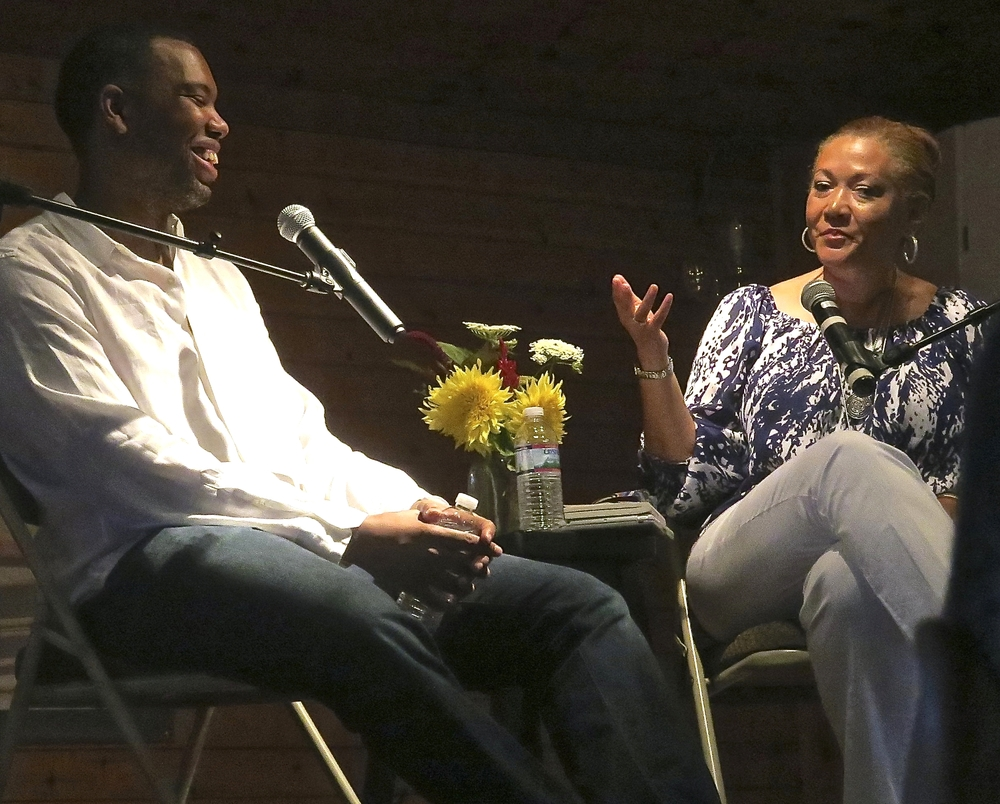 Ta-Nehisi Coates and Michele Norris