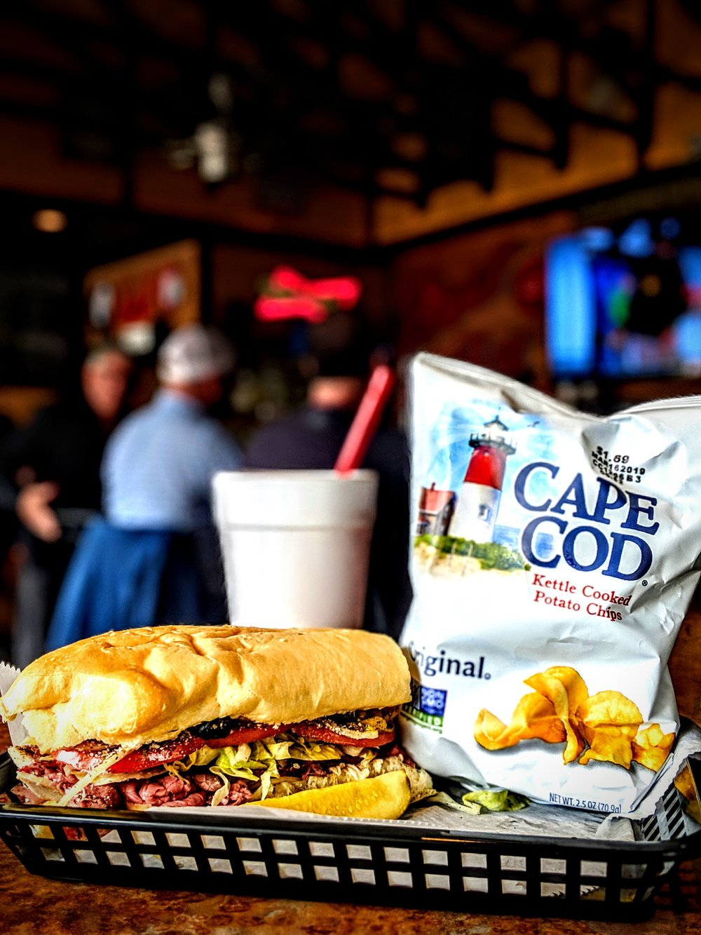 Dawood's Combo - $9 plus tax (excluding Brisket and Prime Rib)