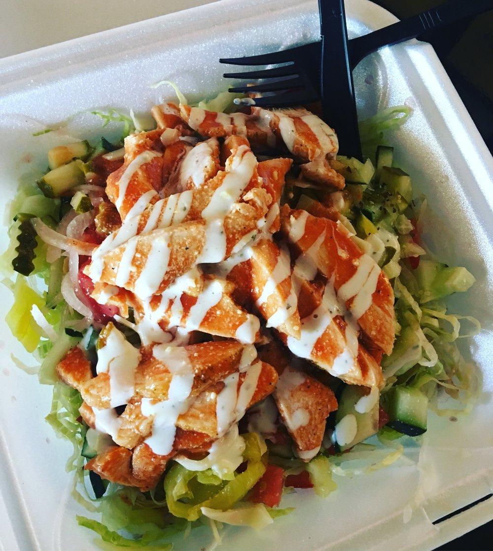 Buff Chicken Salad
