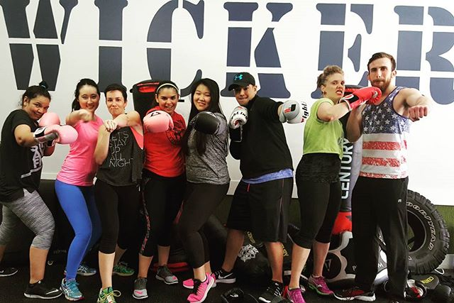 Great Saturday Class #boxfitfight #boxingbootcamp #wickerparkfit #bucktownfit #chitownfit #fitnessclasses