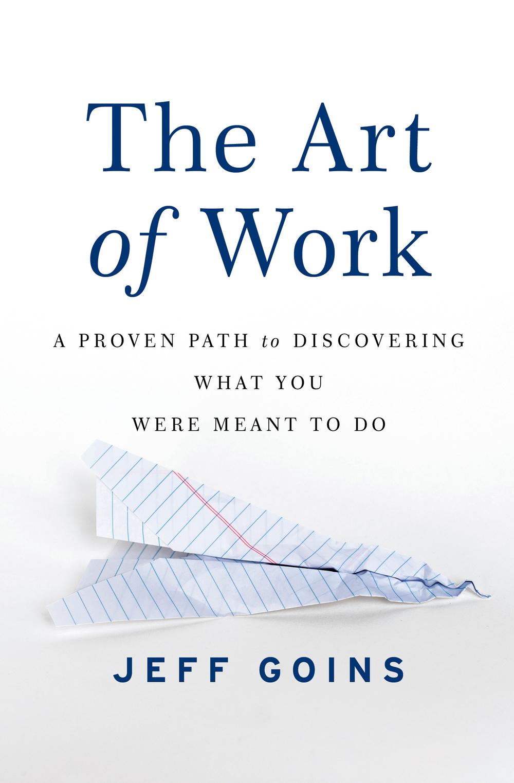 the art of work jeff goins