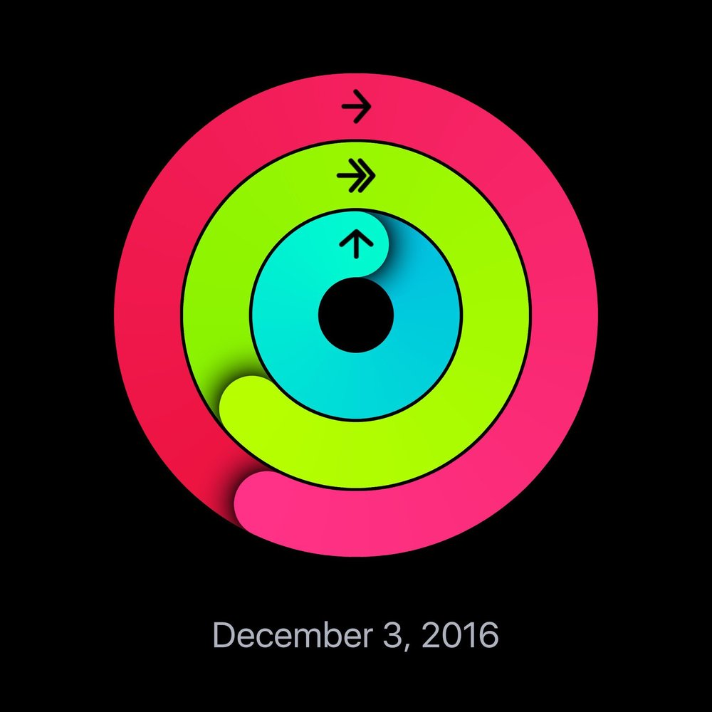 Exercise Goal Tracking on the Apple Watch