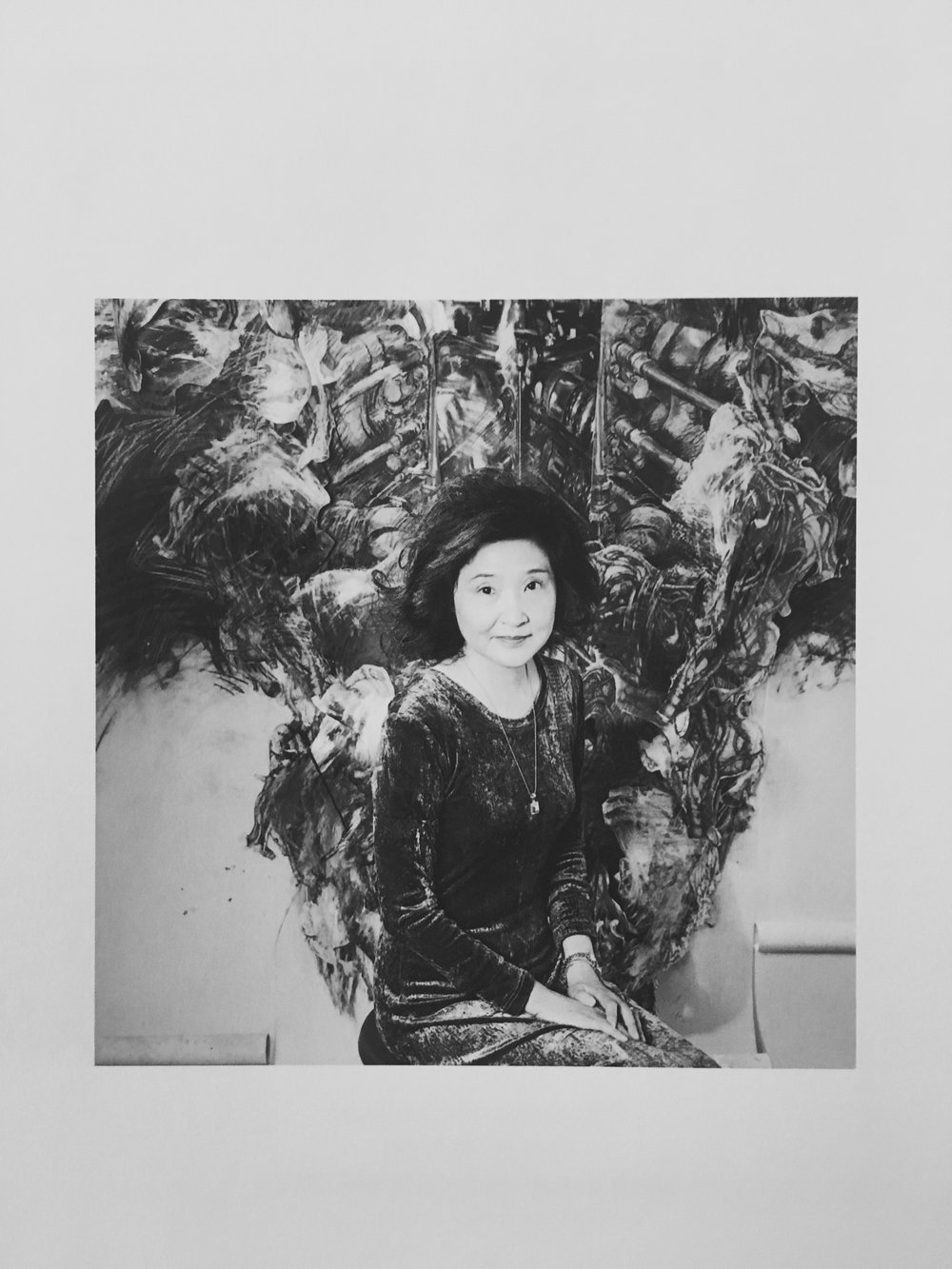 A picture of Junko Chodos from one of her books.
