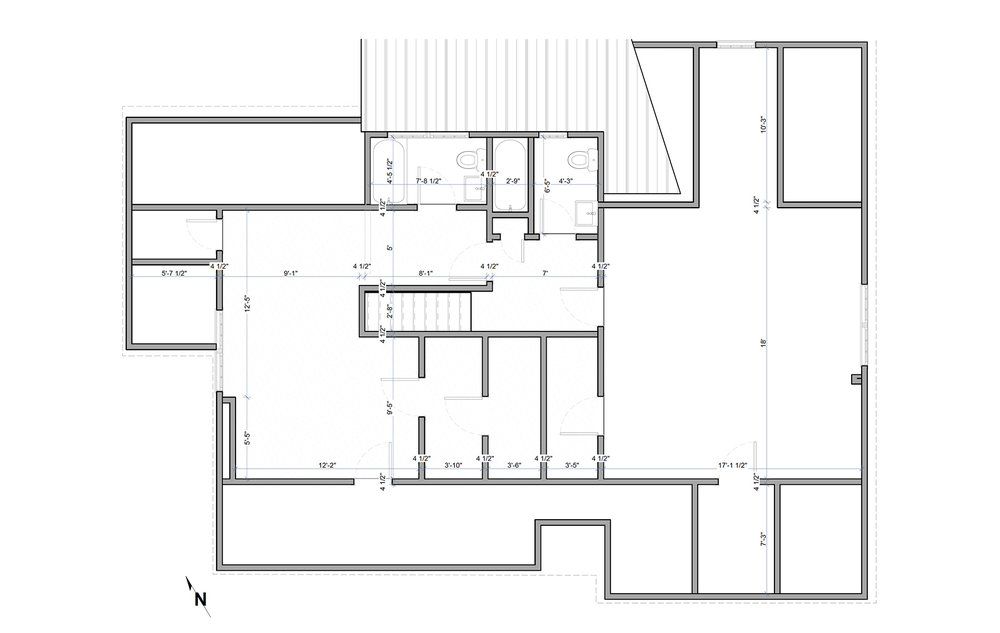 EXISTING SECOND FLOOR PLAN