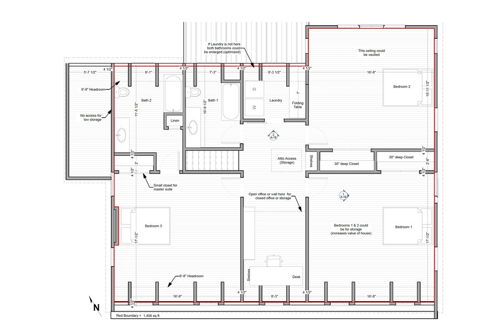 PROPOSED FLOOR PLAN - OPTION 2