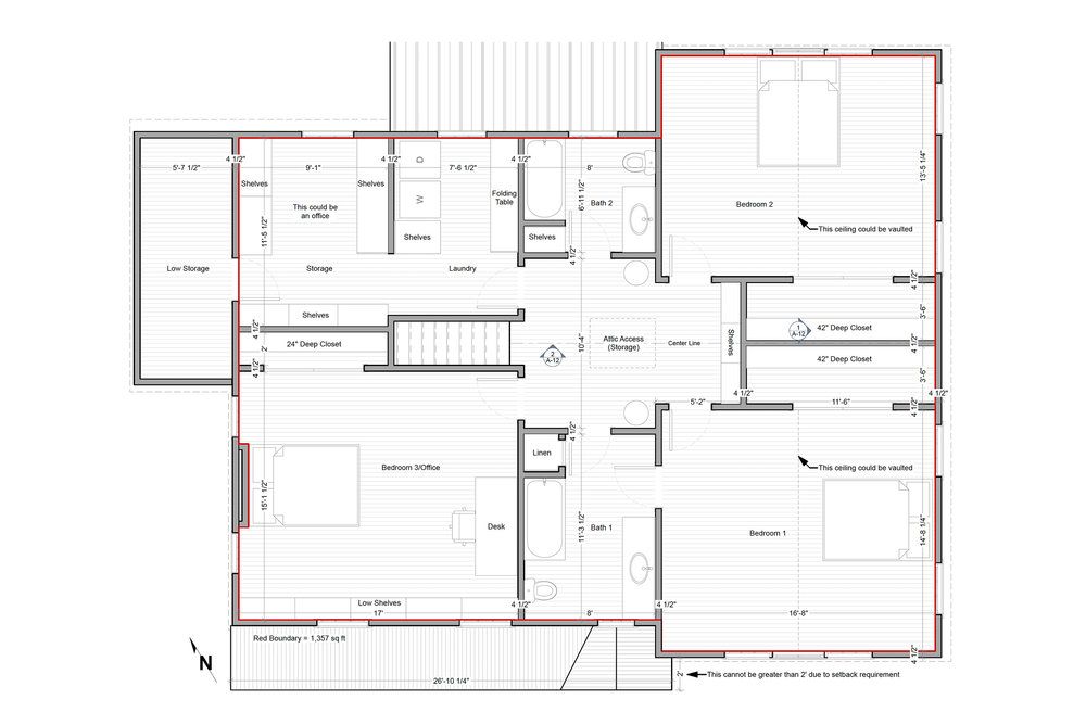 PROPOSED FLOOR PLAN - OPTION 1