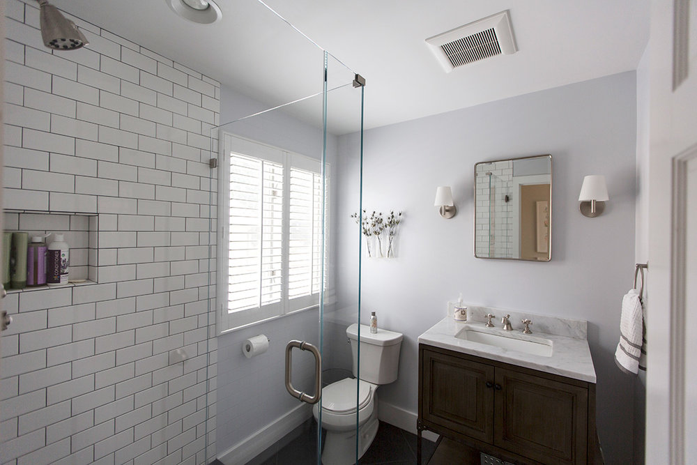 BATHROOM AS RENOVATED