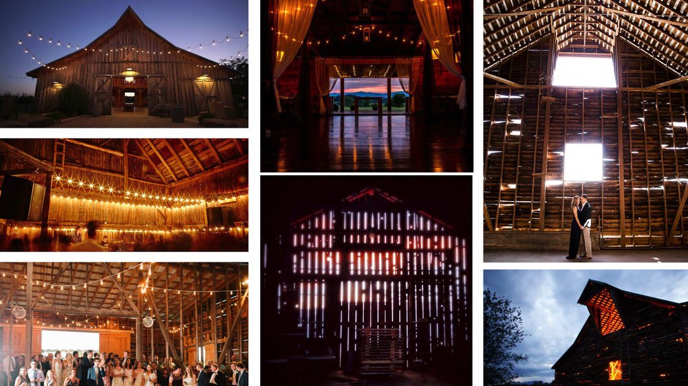 Precedents of event barns