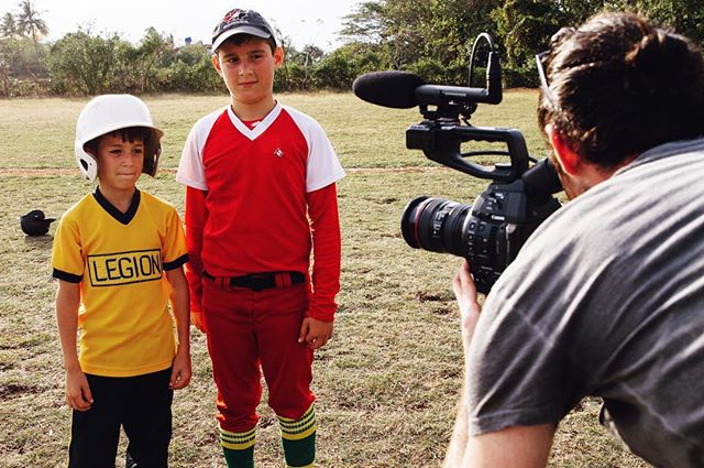 Young Cuban baseball stars in the making ⚾️ Check out the short film from our trip to Cuba •link in profile•
