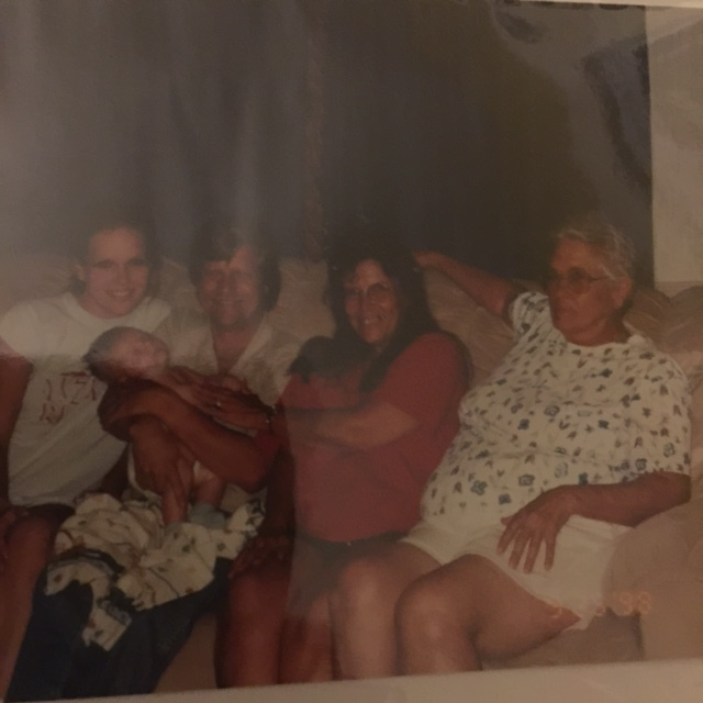 Our five generations picture