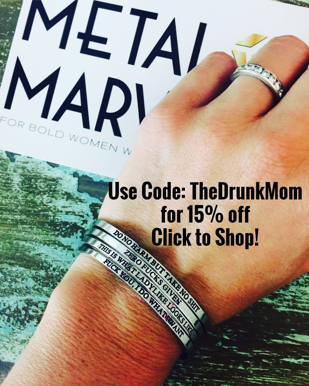 Who doesn't want jewelry to match ya' mouth!? Metal Marvels is a partner company that we love