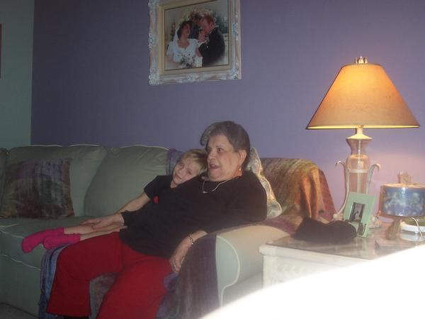 Nonna and Liana on sofa Dec 2006.jpg
