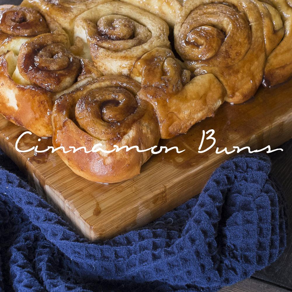 Cinnamon Buns Square