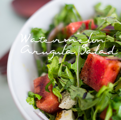 watermelonarugulasalad
