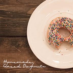 Homemade Glazed Doughnuts