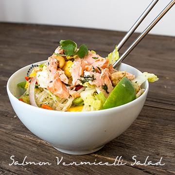 Salmon Vermicelli Salad