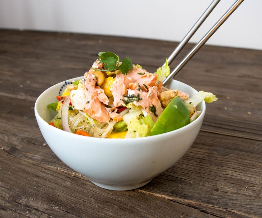 salmonvermicellisalad
