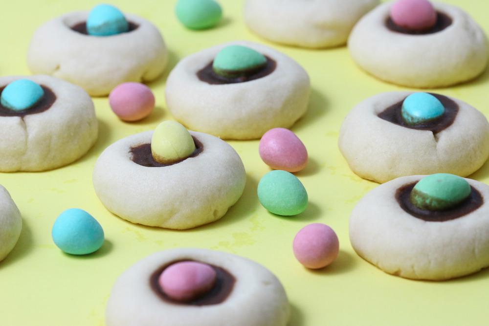 minieggthumbprintcookies