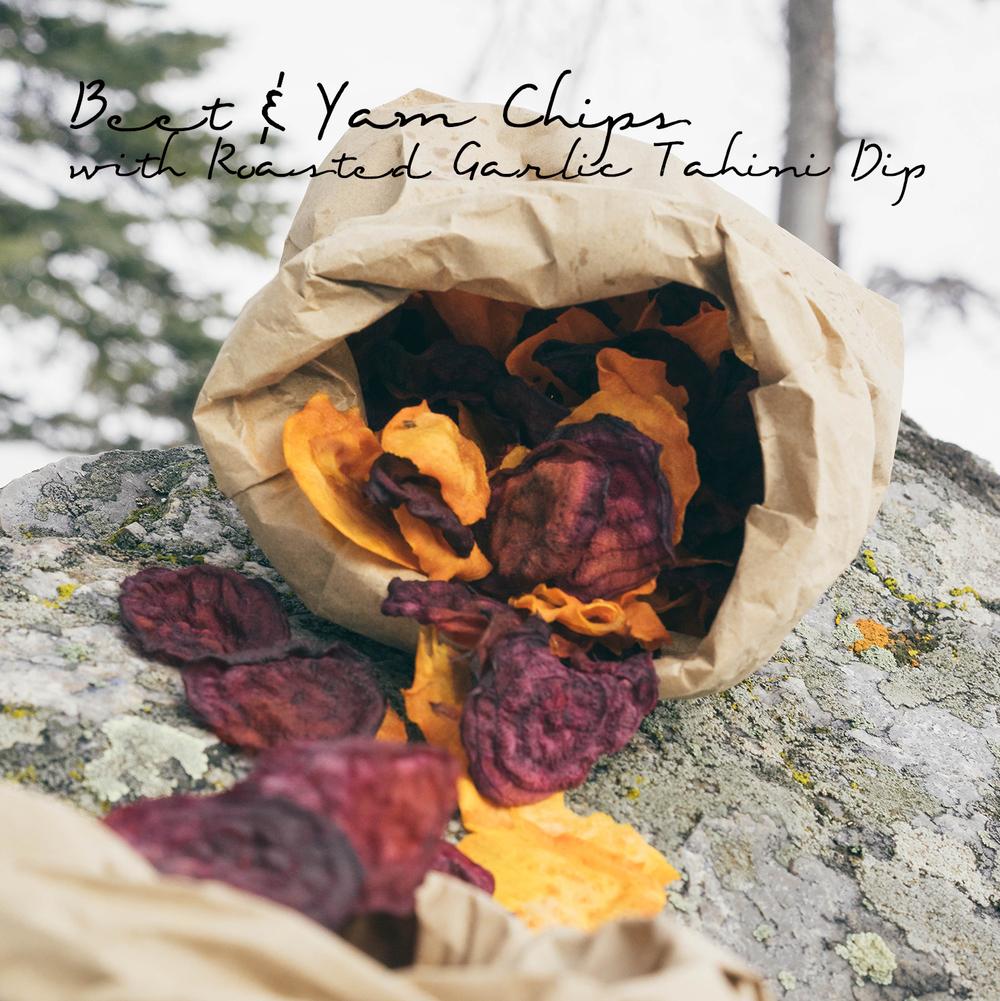 Beet & Yam Chips