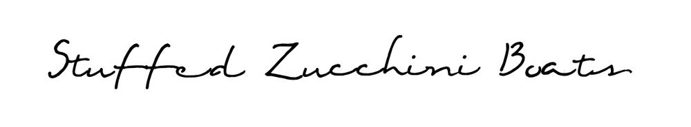 stuffedzucchiniboats