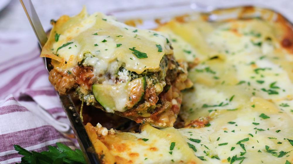 Meat and Veggie Lasagna