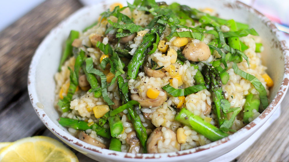 Vegetable Risotto Dairy Free Gluten Free