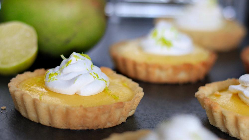 Mango Lime Tarts