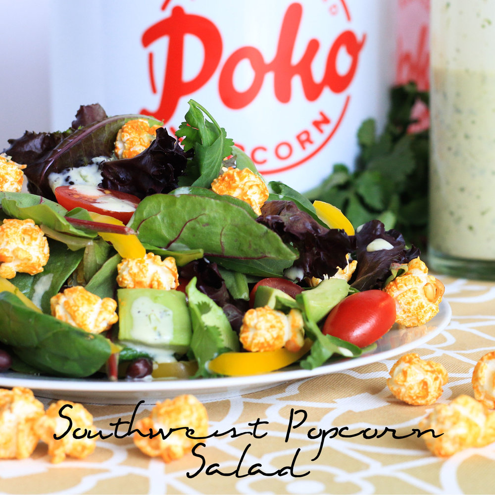 Southwest Popcorn Salad