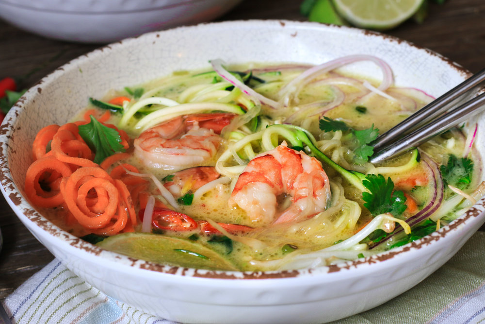 Thai Green Curry Soup