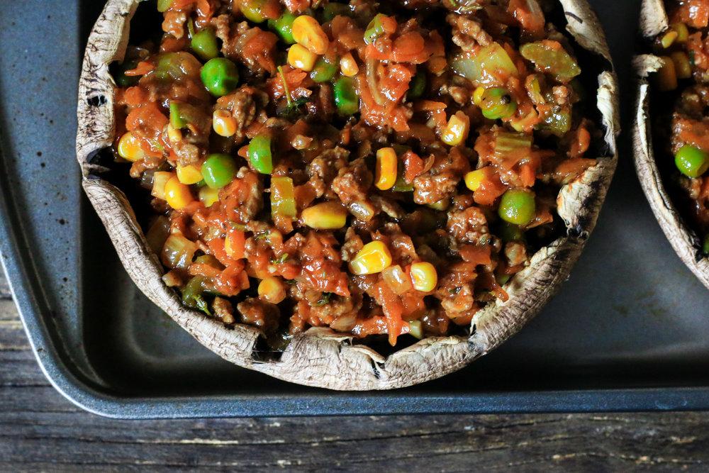 Portobello Yam Shepard's Pie