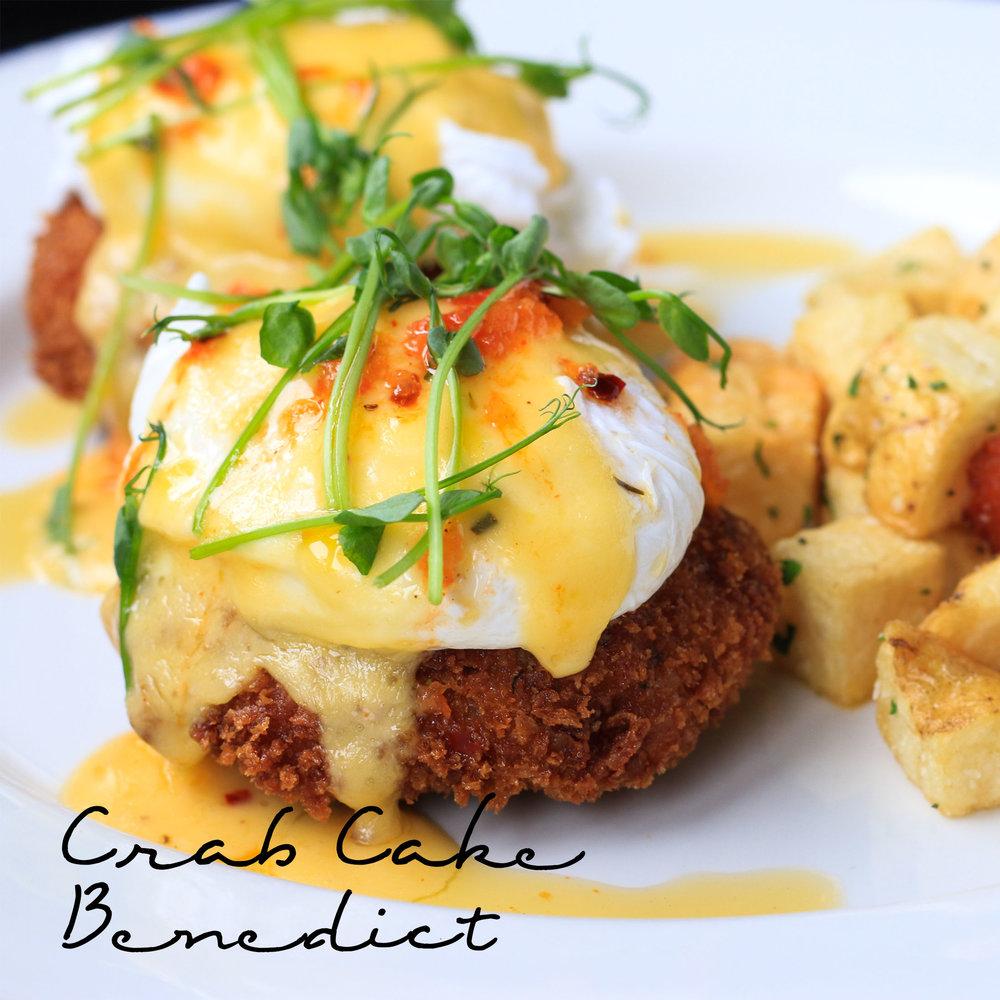 Crab Cake Benedict