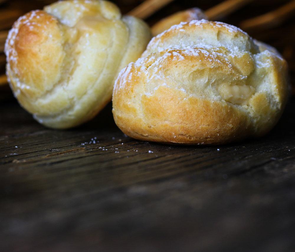Bailey's Cream Puffs
