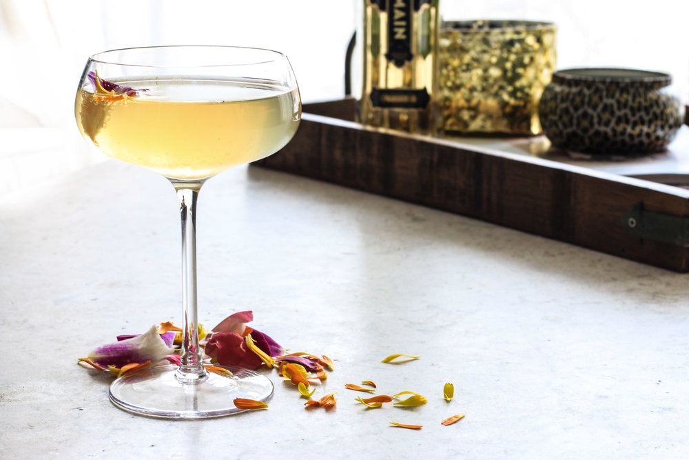 Chamomile and Elderflower Cocktail