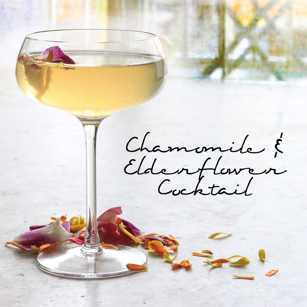 Chamomile & Elderflower Cocktail