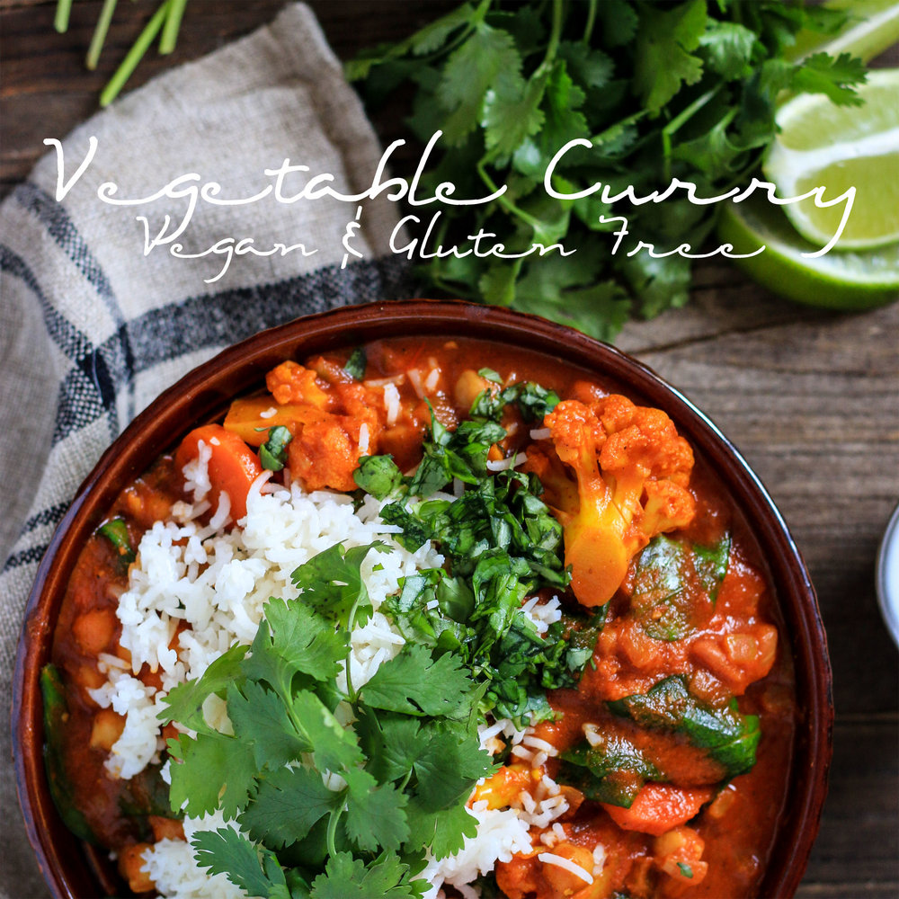 Vegetable Curry Vegan and Gluten Free