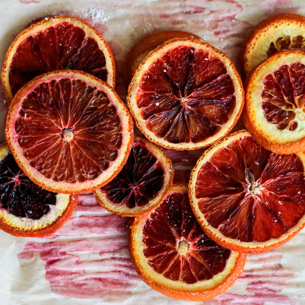 Dehydrated Blood Oranges