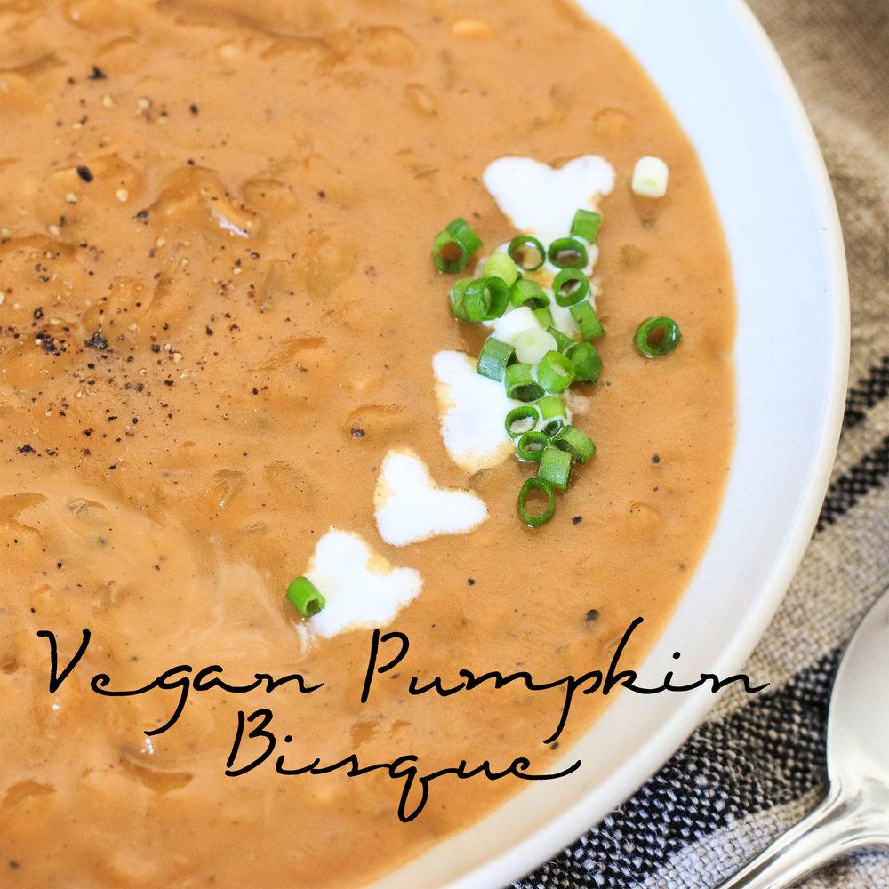 Vegan Pumpkin Bisque