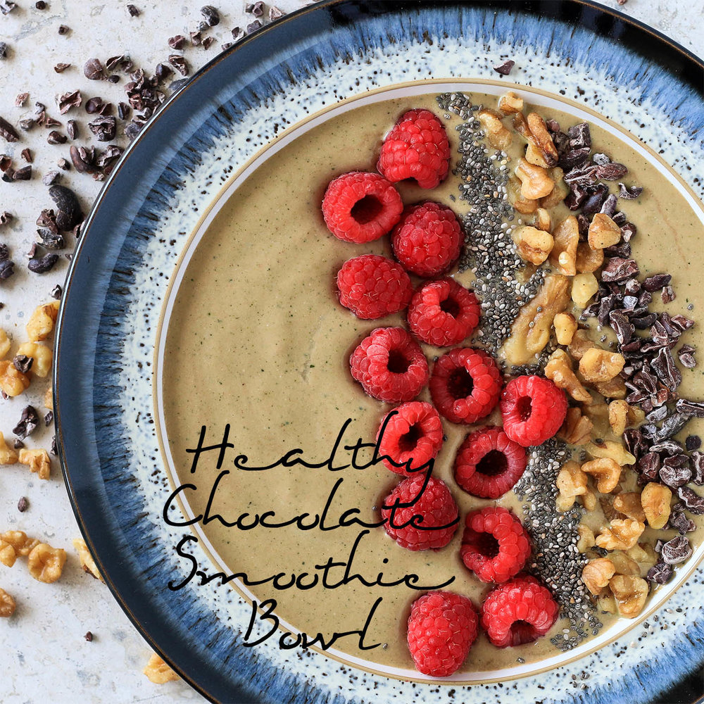 Healthy Chocolate Smoothie Bowl