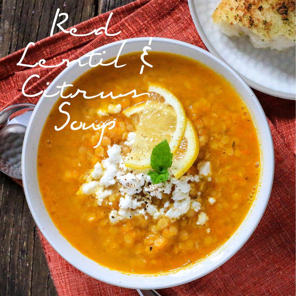 Red Lentil & Citrus Soup