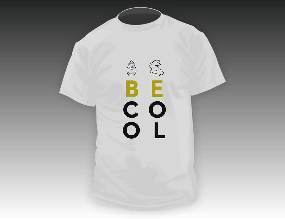 Synesthesia T-Shirt 'Be Cool' Draft 1.jpg