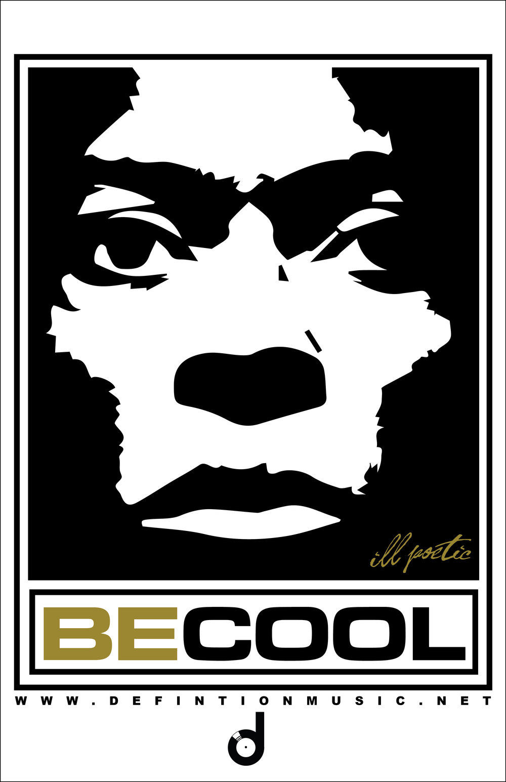 Be Cool T-Shirt - Miles - 11x17.jpg