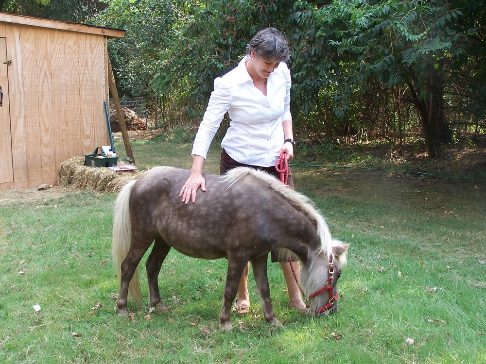 Gina and Snickers 2010.jpg