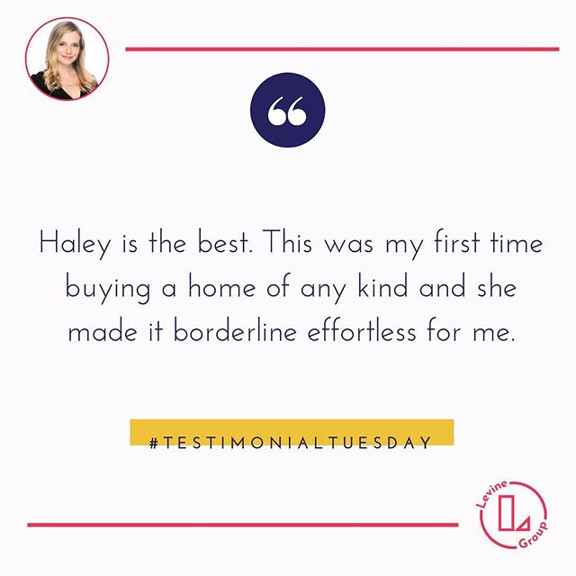 We have ☝️ goal, to provide our clients with the PERFECT TRANSACTION ! We are so grateful for your trust in us💕#testimonialtuesday