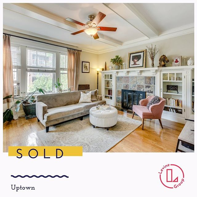 We sold this vintage beauty fast 💨, over asking price and to our own buyer. Being proactive and not waiting for another real estate agent to bring you a buyer in this shifting market is key 🔑. Message us if you are thinking about selling! . . . . . . . . . . . . . . #lgcsold #justsold #justclosed #uptownchicago #realtor #howtosellahomefast #housegoals #vintagecondo