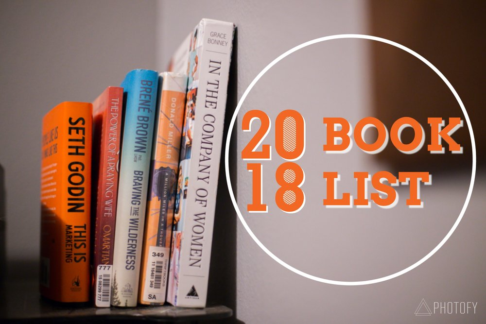 2018 Book Reading List
