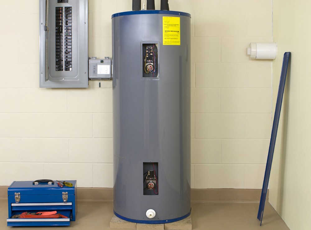 Nick provides water heater replacements and installations.